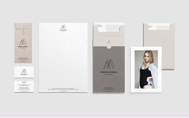 Merilyn Media Group by INTSIGN #rebranding #logo #logotype #identity #strategy #modelagency #kyiv