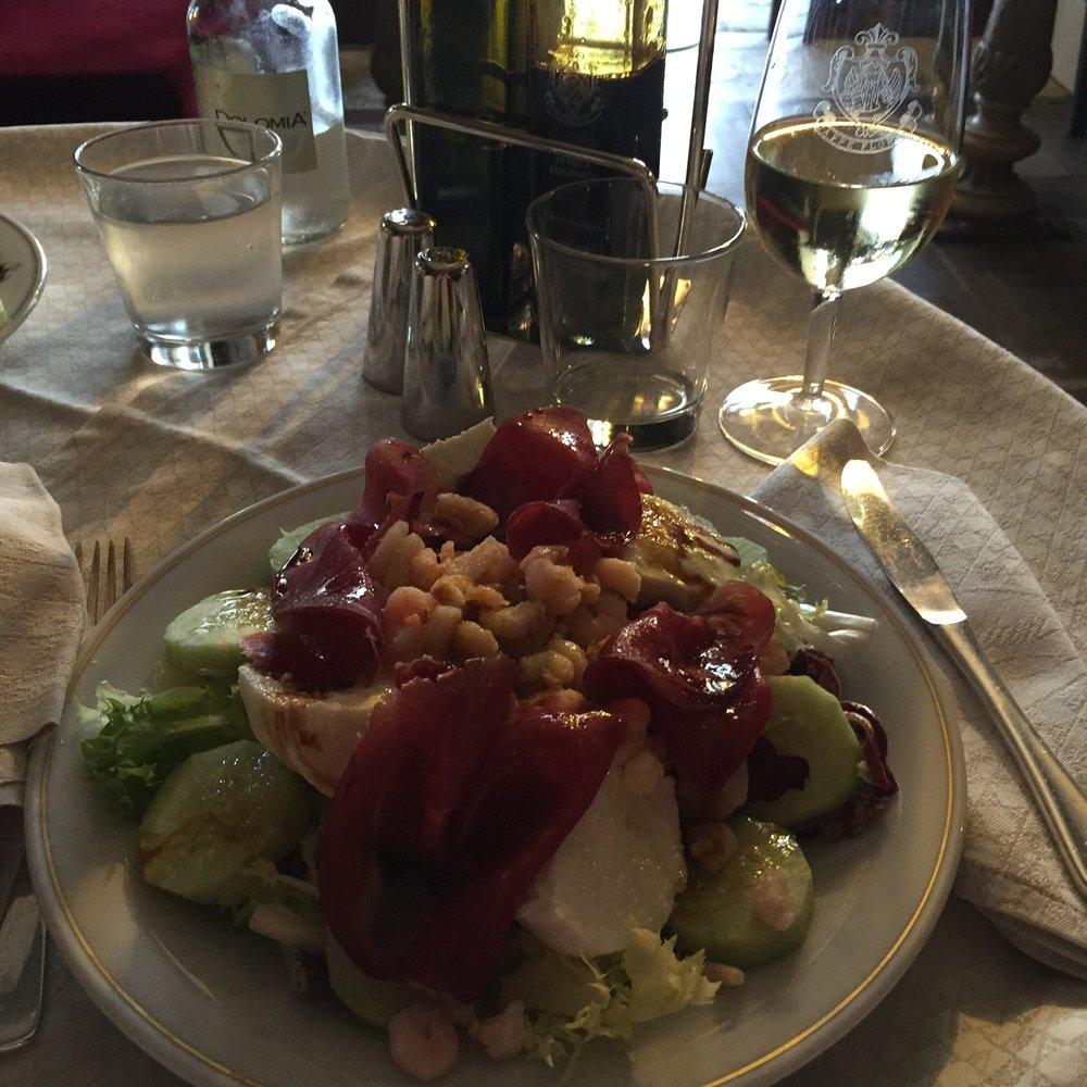 Shrimp salad ..Cafe Florian.JPG