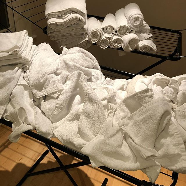 While you all think i do nothing 😏I have done washes & washes of towels all day long . The joy of being a Spa owner  as the laundry chap is on his long weekend 😂