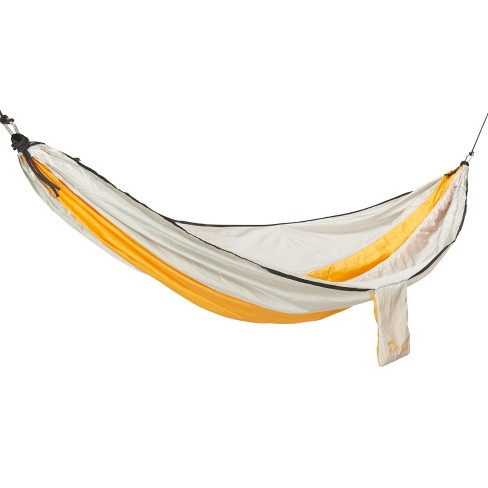I'm really glad I got a hammock because it's so nice to be able to just hang out in one and read or do whatever. It's also nice because the sides are long enough that you can fold yourself up into a little cocoon in it.