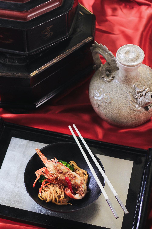 Stir fried ramen with lobster in XO sauce.jpg