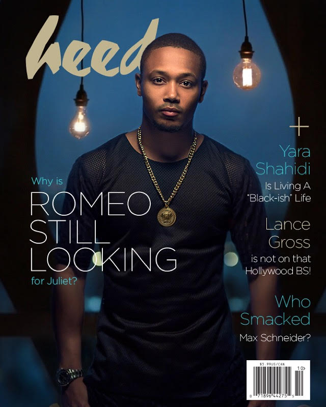 Romeo Miller wearing 4 Leaders