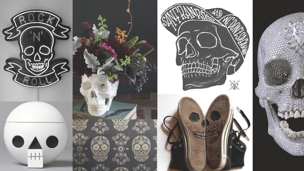 SkullMood #moodmoard #moremood #halloween #skull #black #horror