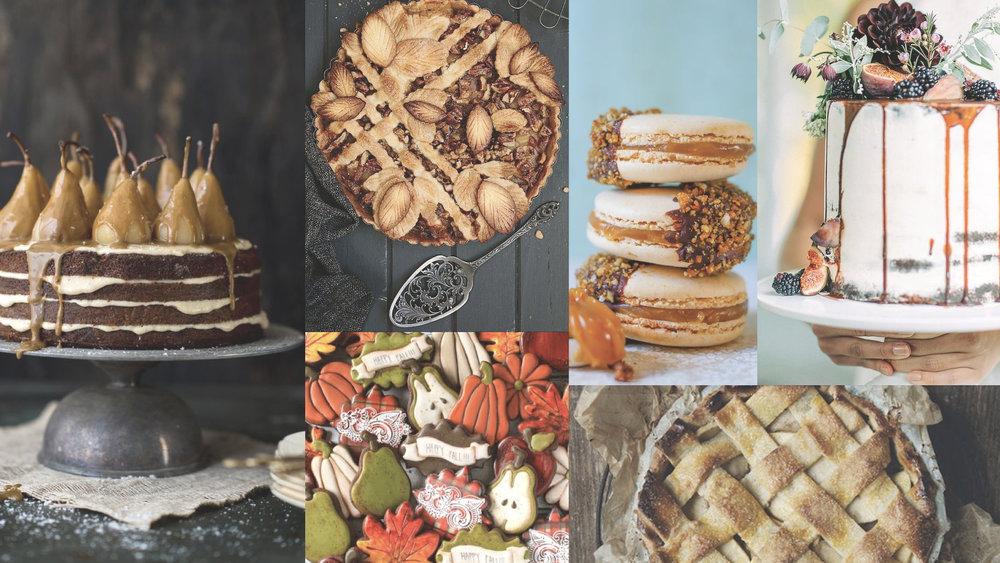 AutumnCakeMood #moremood #moodboard #cake #autumn #sweet #tasty #gnammy