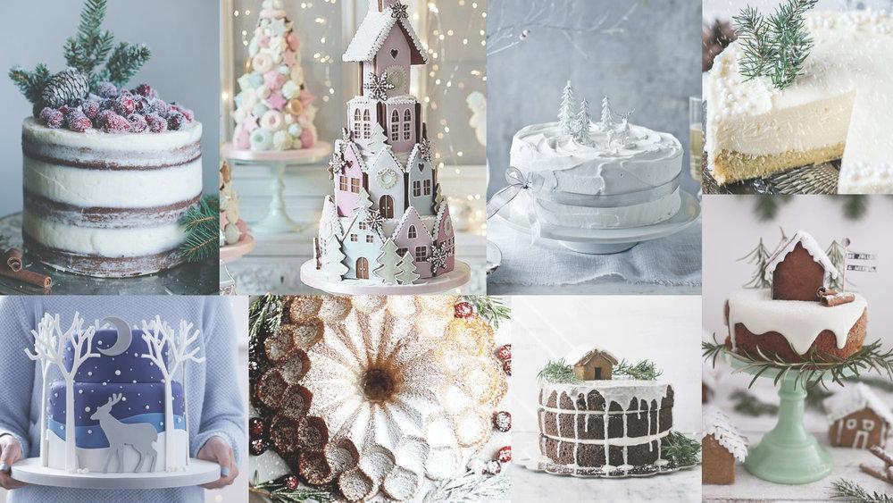 XmasCakeMood #moremood #moodboard #christmas #xmas #cake #sweet #dolce