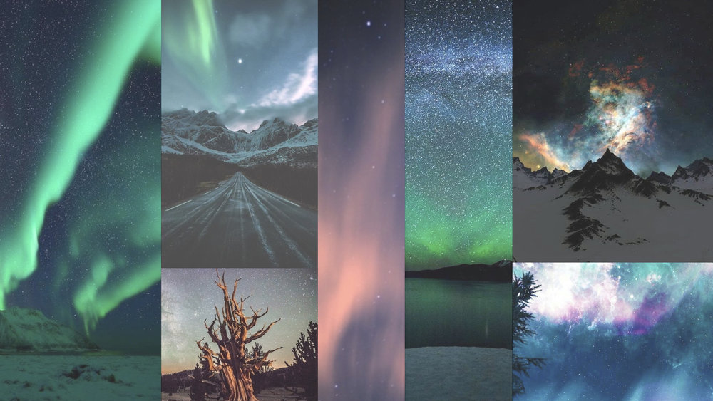 AuroraBorealisMood #moremood #auroraborealis #aurora #nature #sky #winter