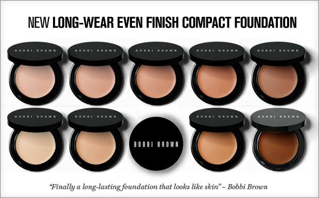 Long-Wear Even Finish Compact Foundation - Bobbi Brown