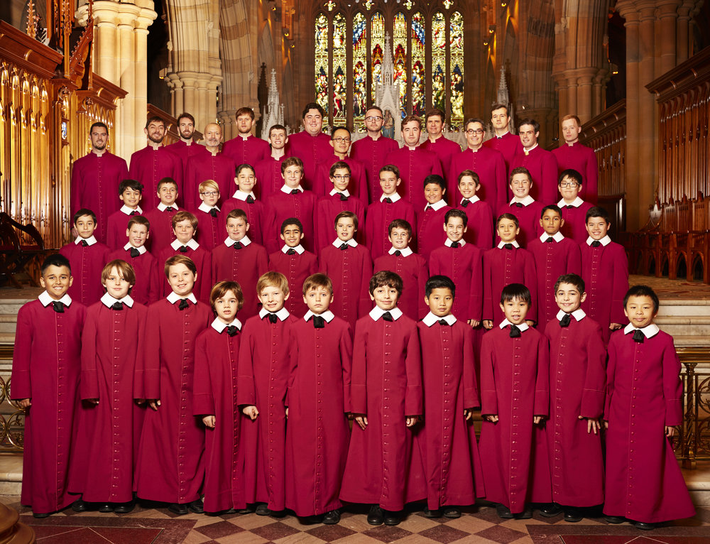 Saint Mary's Cathedral Choir, Sydney: Choristers and Lay Clerks