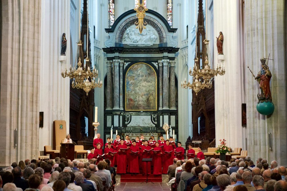 The Choir in Antwerp Cathedral.