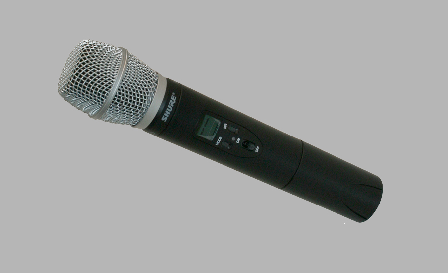 Wireless Microphone (3-block range)