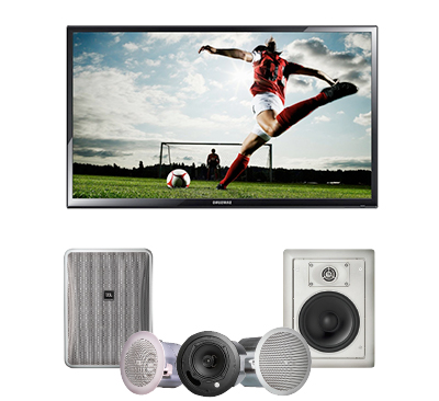 we choose audio visual equipment based on specific location requirements.