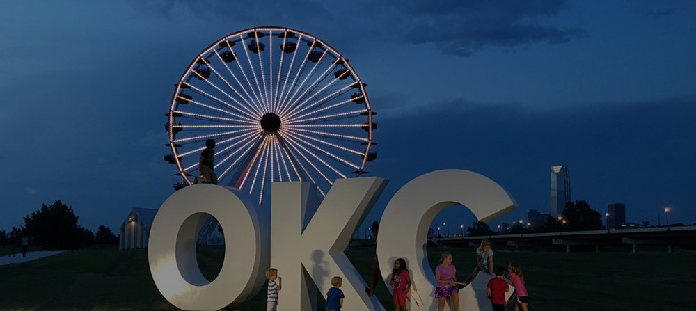 Outdoor audio and visual systems for main streets and public spaces in Oklahoma City, Edmond, Tulsa