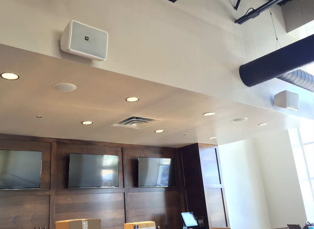 Audio system installation for Restaurants - Kamp's 1910,  Edmond, OK