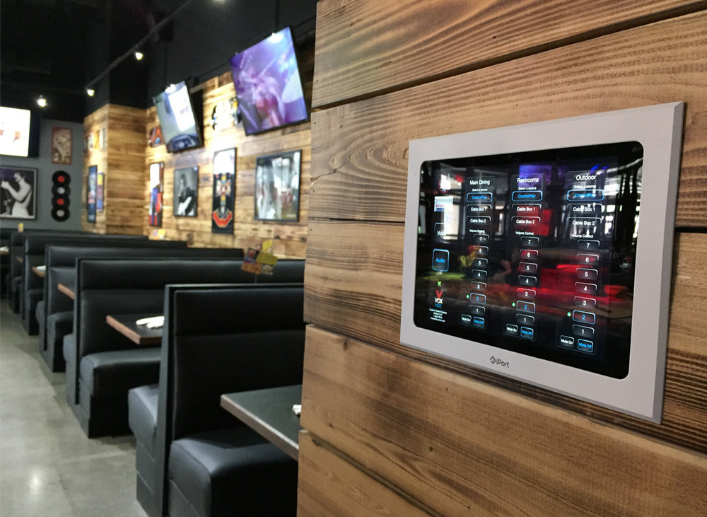 Restaurant Zone Control Panel design and installation - S&B's Burgers, Mustang, OK