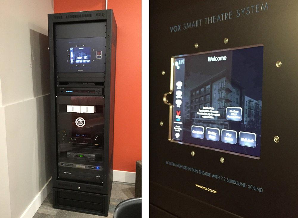 Commercial residential audio visual Control System installation - Lift Apartments, Oklahoma City