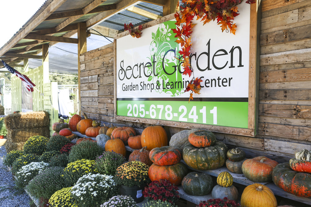 Secret Garden - learn to landscape like a pro with our gardening education programs and nursery