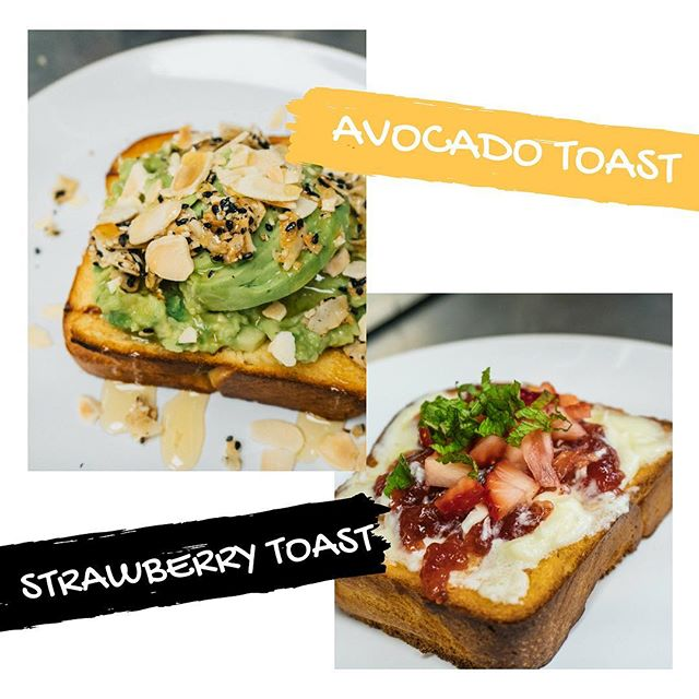 Our #toasts will give you what you need so you can enjoy a healthy and full of energy body!