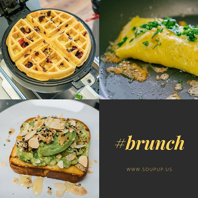 Brunch starts at 11am! Come nourish your body with some delicious food!
