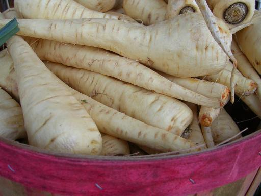 Carrot's close relative...the parsnip