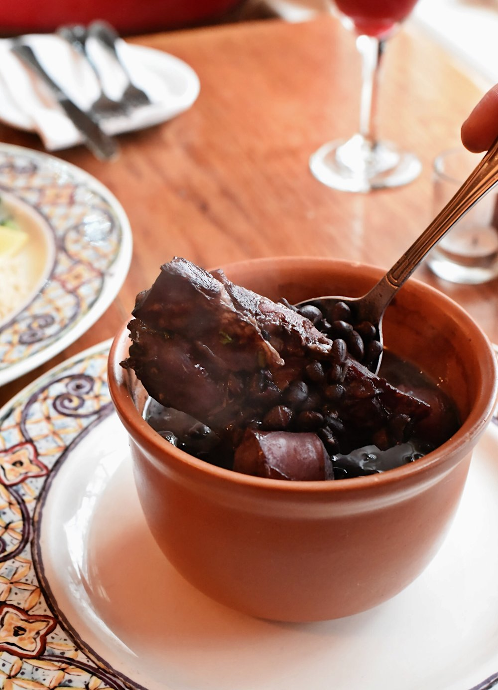 Now offering our Feijoada, Brazil's National Dish!!  (Black beans stewed w/ beef, sausage and ribs)   2lbs Pack (2-3 servings) - $14    3lbs Pack (4-6 servings) - $18