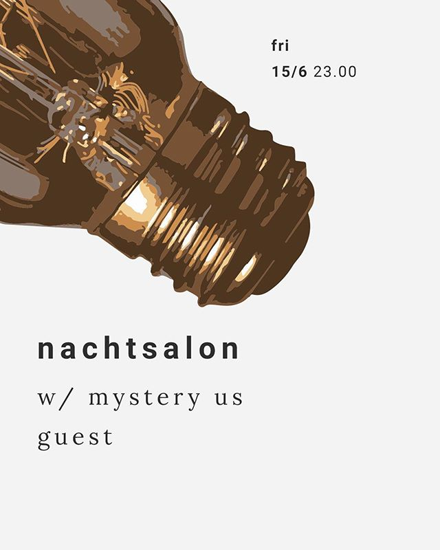 Oosterbar invites Nachtsalon - w/ a special guest from the US... 🤘🏻