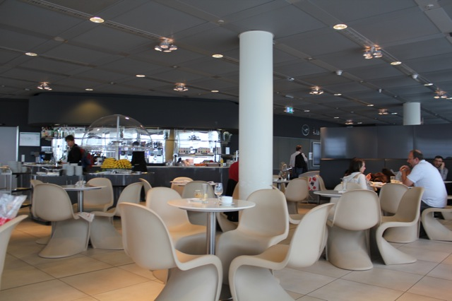 Trip Report Prg Fra Sfo Part I Lufthansa Y And Tower Lounge