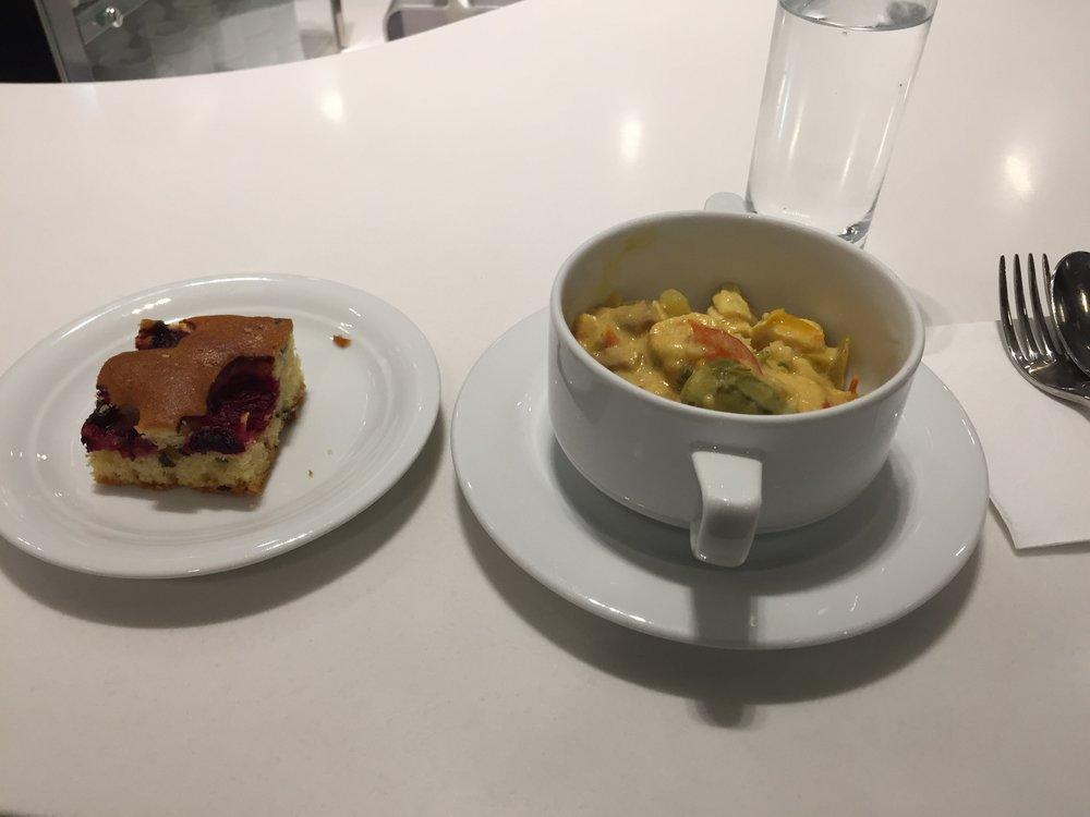 Senator lounge food