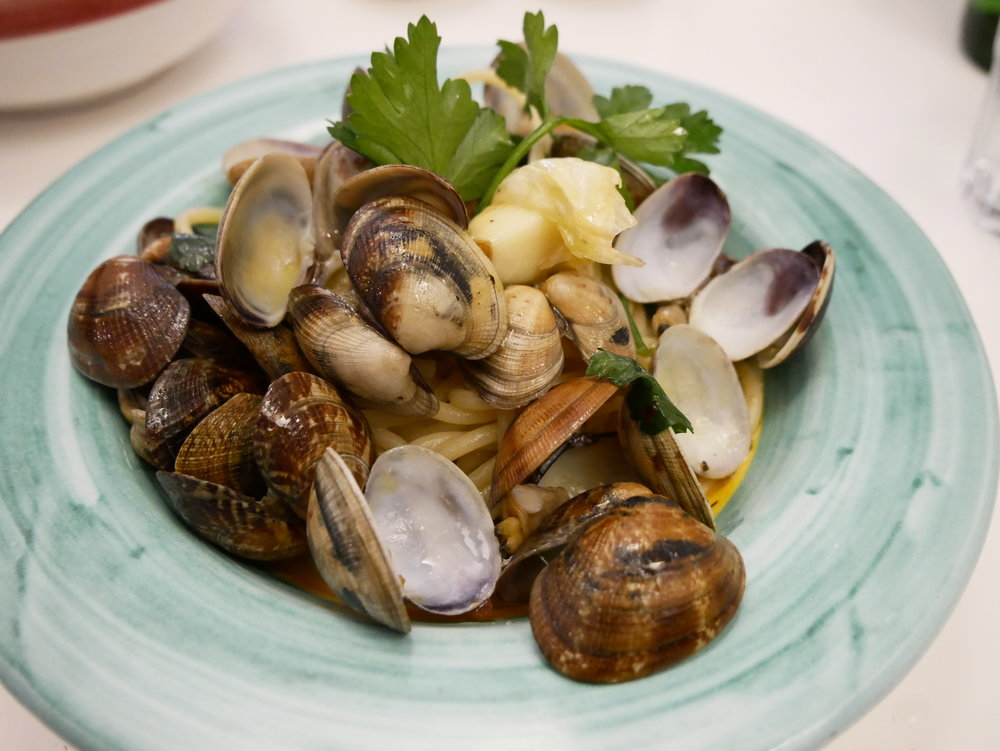 Seafood pasta Taverna degli Apostoli