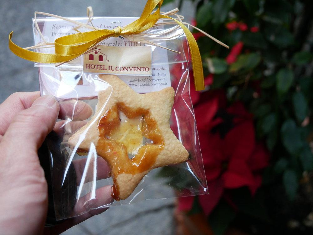 Il Convento Hotel Naples cookie.jpg