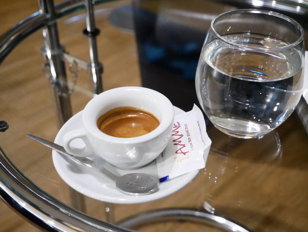 Naples Airport VIP Lounge espresso.jpg