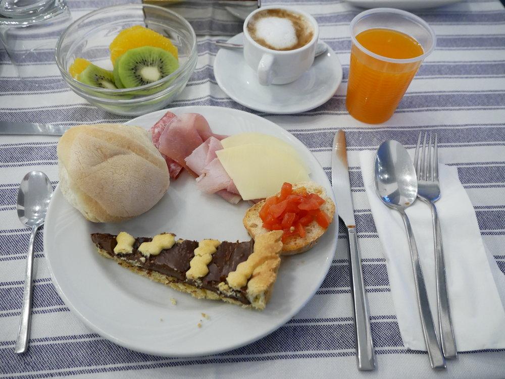 Hotel Mignon Sorrento breakfast plate 1.jpg