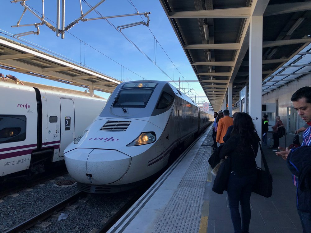 Euromed train Valencia-Barcelona