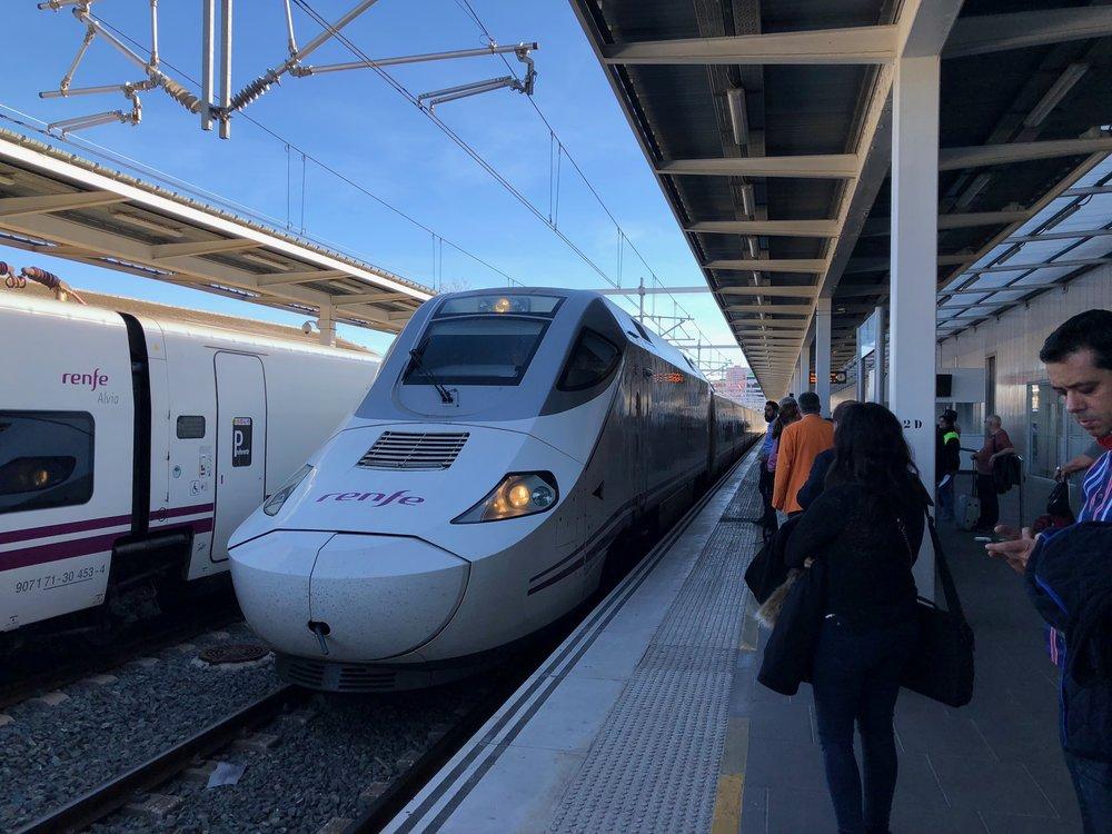 Euromed train Valencia-Barcelona
