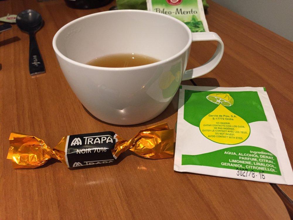 AVE after dinner tea