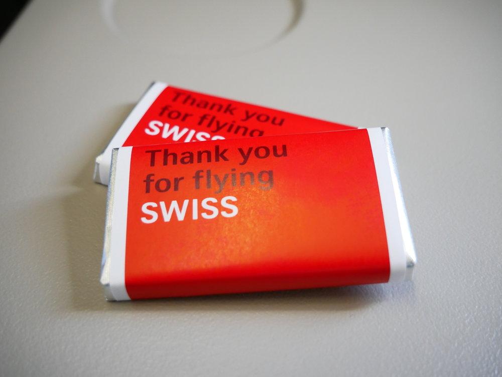SWISS Economy chocolates