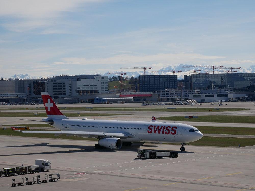 SWISS A330 Geneve