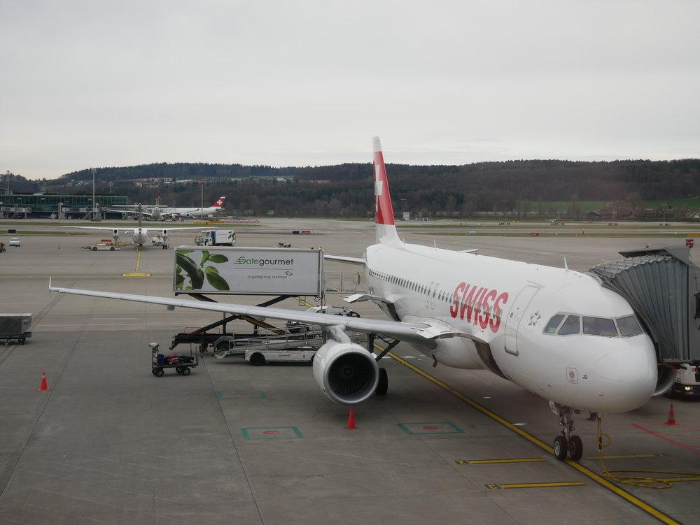 SWISS A320