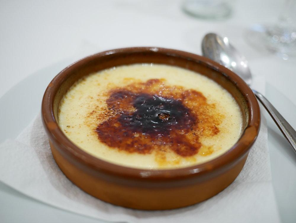 Ca L'Estevet crema catalana