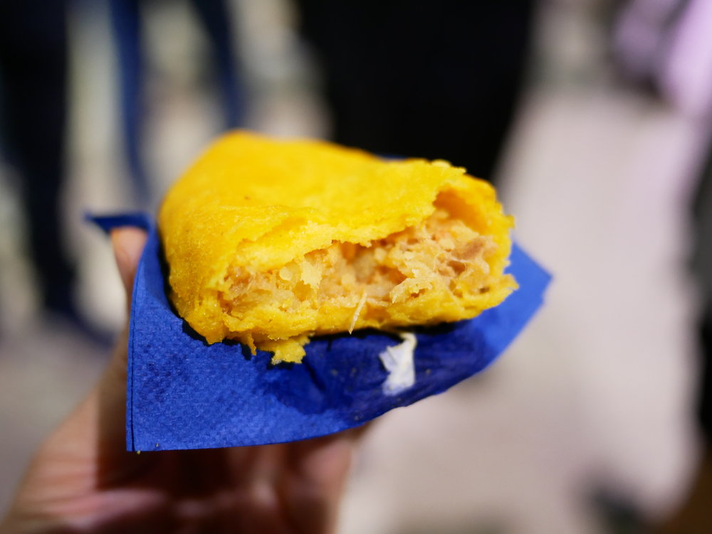 Colombian empanada chicken