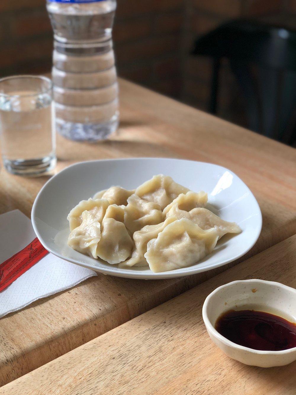 Dumplings (水餃, empanadillas)