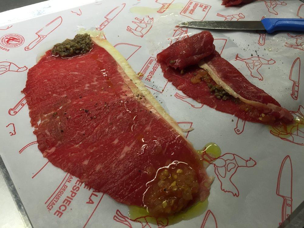 Sala de Despiece beef roll