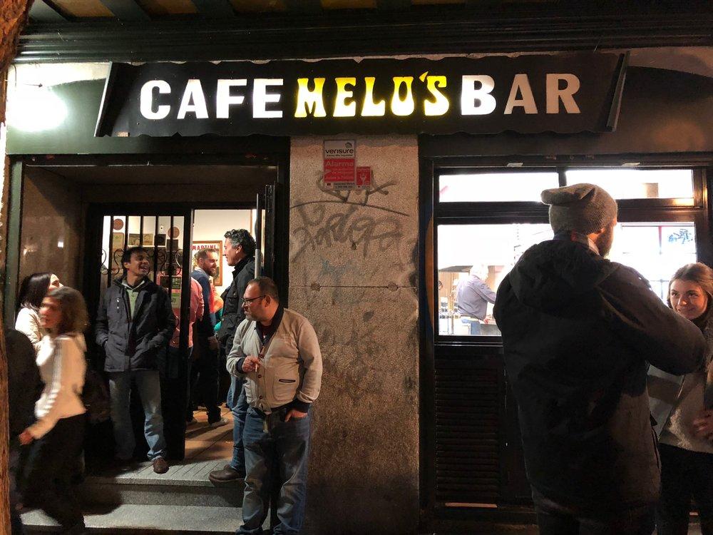 Cafe Melos exterior