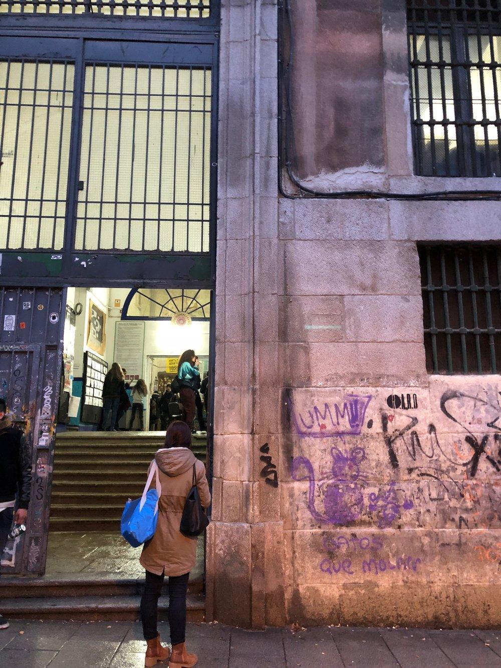 Tabacalera anarchy entrance