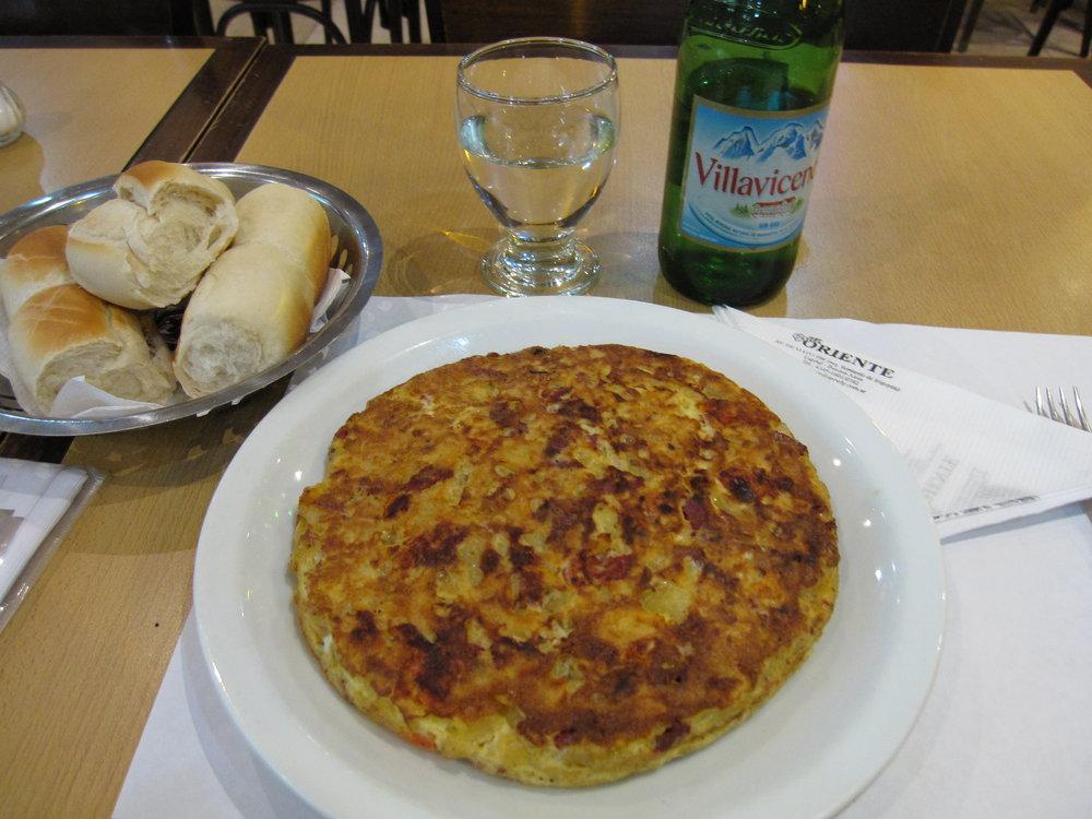 Grill Oriente Argentina tortilla española
