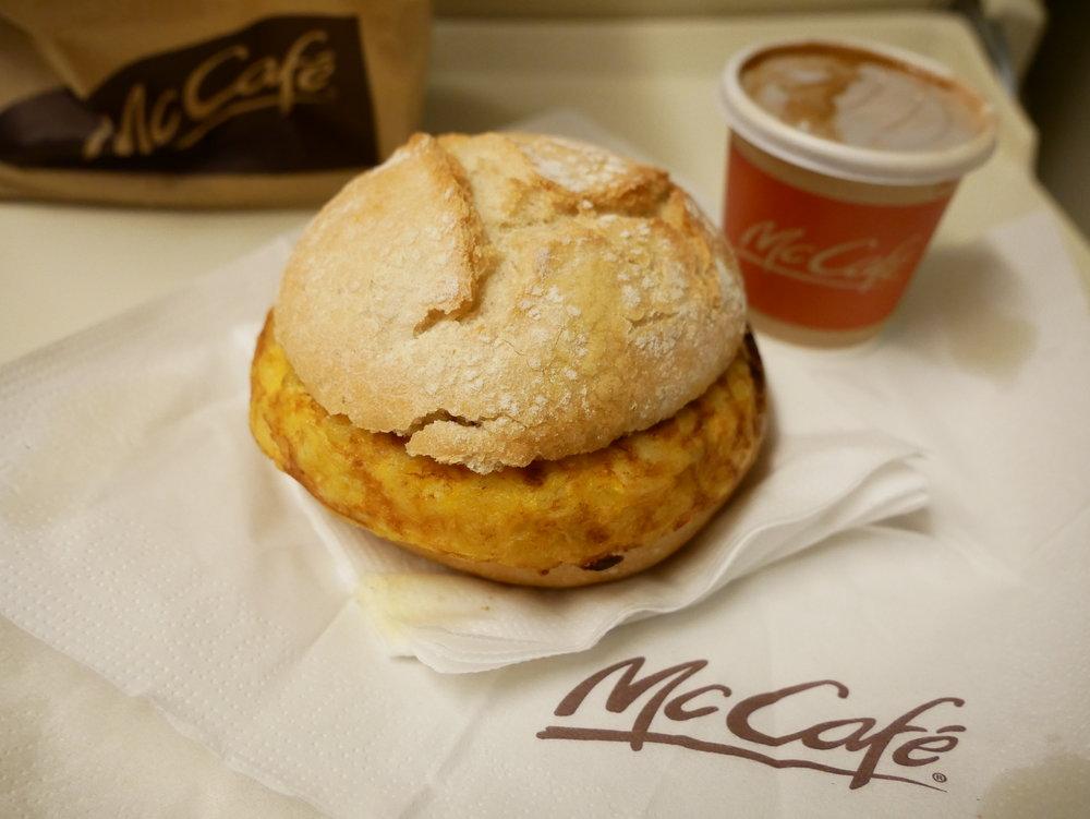 McCafe tortilla