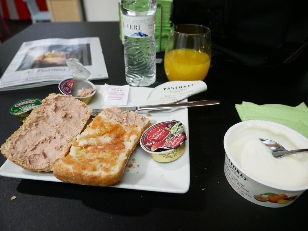 Sala VIP Pau Casals BCN Breakfast 2