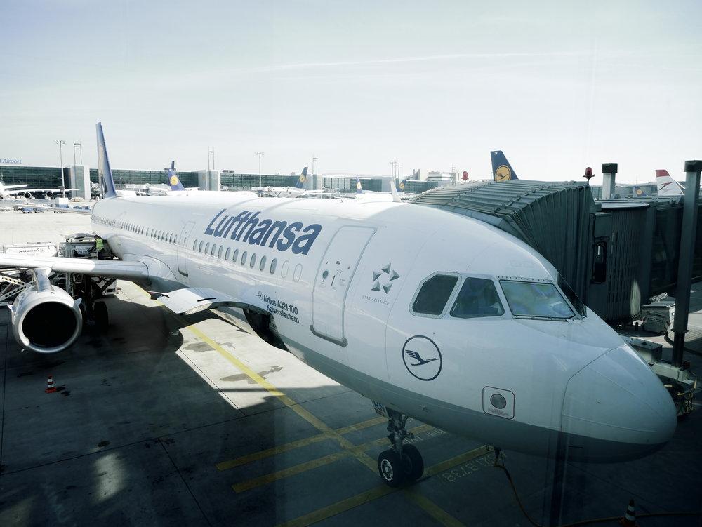 LH A321 Frankfurt Airport