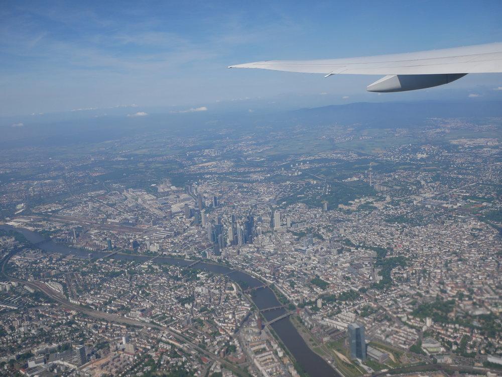 Takeoff Frankfurt