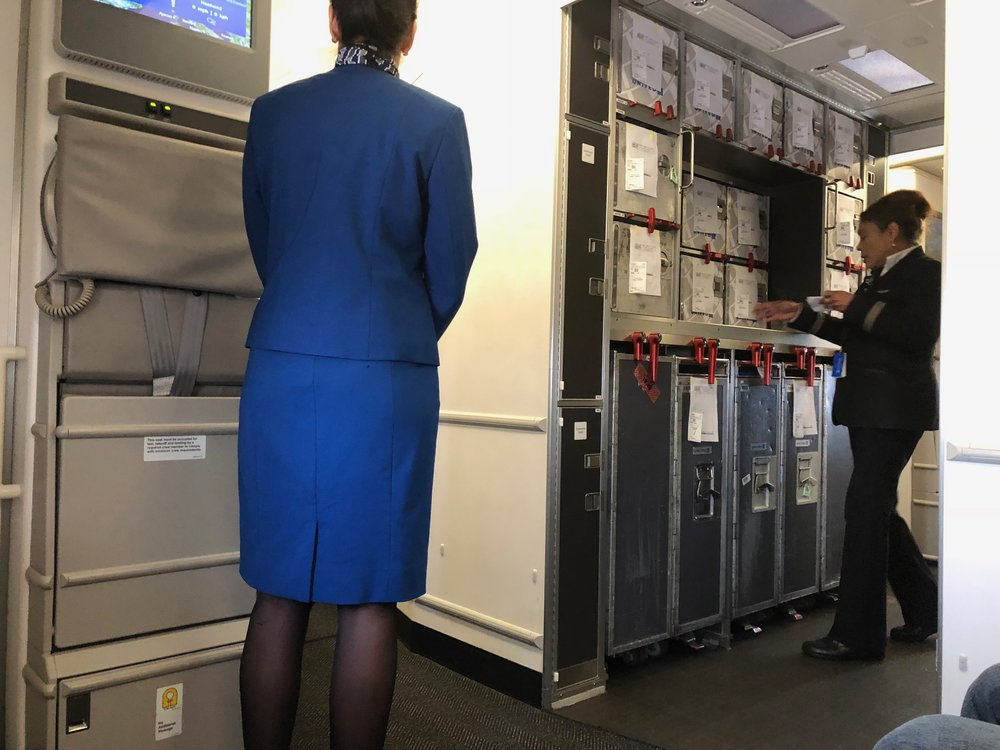 Of note, the Frankfurt-based flight attendant whose jumpseat was across from me, like most flight attendants on this flight, was excellent.