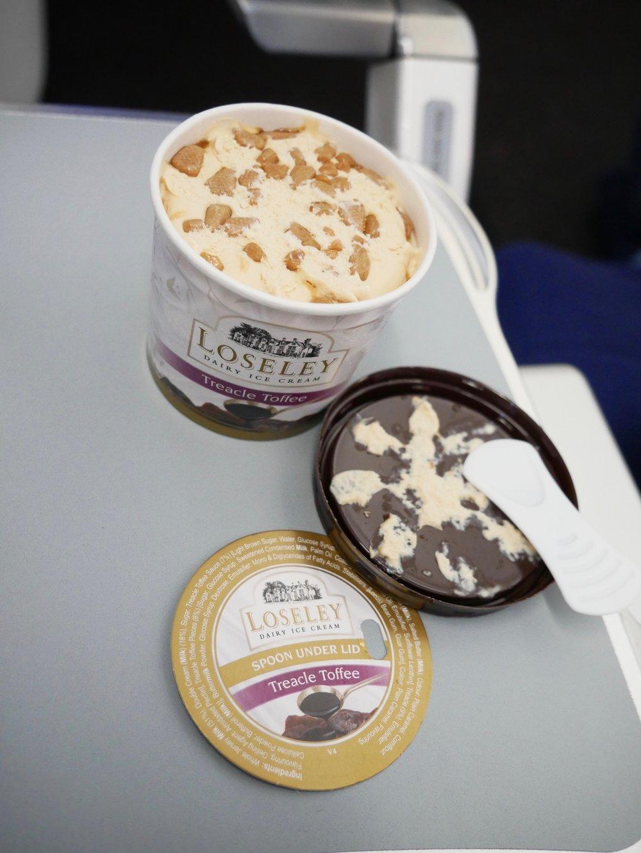 United Economy toffee treacle ice cream